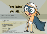 5k pagewiews 'god bless' by Meatball-man