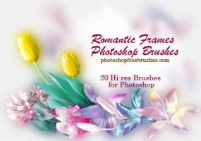 20 Photo Frames PS Brushes by fiftyfivepixels