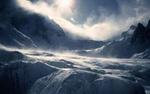 Frozen Mountain by AntopiaNetwork