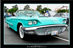 59 Ford T-Bird by mahu54