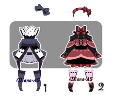 Clothes adoptable batch CLOSED by Diana-AS