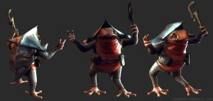 Little Toad model by Bawarner