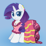 Rarity in Gala Dress by giantsquidie