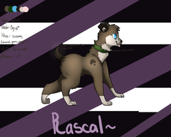 Rascal ref sheet by Flea-Bites