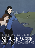 Shark Week by Atlantistel