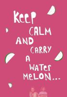 I carried a watermelon by laurengee