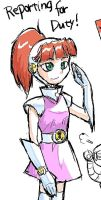 Doodle : Atomic Betty by Dice-K