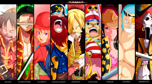 One Piece Z - Collab by uchiha-itasuke
