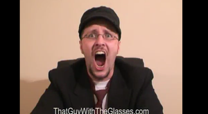 Nostalgia Critic WTF Face! XD by Knux95