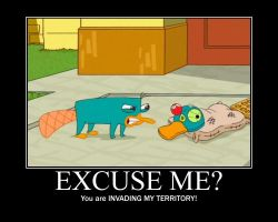 Excuse Me? poster by AgentBengalTiger