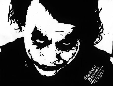 why so serious ?? by santiagobarriga