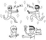 Yamimash, meet Markiplier. by HannahBobble