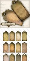 Printable Shabby Tags by VectoriaDesigns