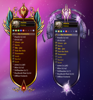 WoWskin Belf and Draino Themes by juzmental