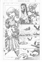 Red Sonja #73 pg 14 by MARCIOABREU7