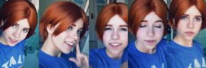 North Italy (Hetalia) Make-up test! by Heidirae1