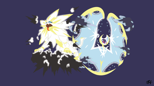 Solgaleo and Lunaala Phrase Mode (Pokemon)