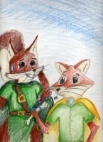 Tom the Fox and the weird gift by FelldohTheSquirrel