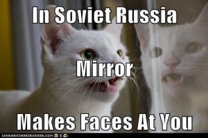 Soviet Russia Cat by xMaikoWolfx
