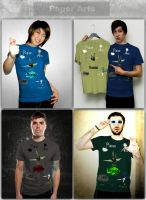 Paper Arts T-Shirts Portfolio by Wh4T