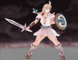 Sophitia Alexandra - Cursed Destiny - 01 by HentaiAhegaoLover