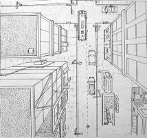 one point perspective by cparks