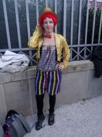 Columbia (The Rocky Horror Show) Lucca Comics 2013 by Groucho91