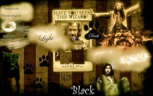 Sirius Black light and dark by Depporgeus