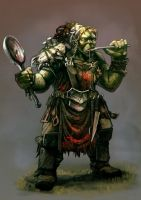 Orc Cook by carloscara
