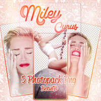 Miley Cyrus Png Pack. by HeavenPhotoshop