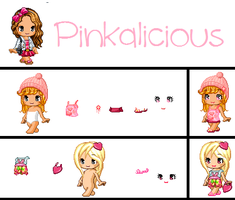 Pinkalicous! (Fashion) by cloudy807