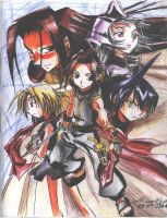 shaman king by krow000666
