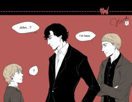 Sherlock x The Hobbit by trackhua