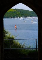 sailing...through the arch by awjay