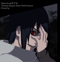 Naruto 574 These Eyes See Darkness Clearly by Tp1mde