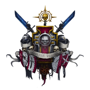 Grey Knights coat of arms by Eupackardia