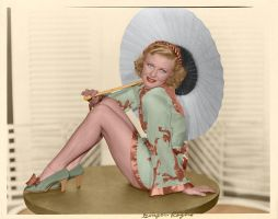 Ginger Rogers Color 9 by ajax1946