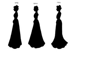 VictorianSilhouettes1892-1902 by lady-of-crow