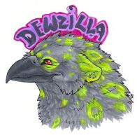 dew badge by Janaita
