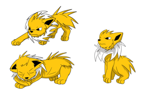 jolteon by ZWolfArt