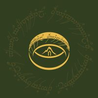 logo of hobbits by breathing2004