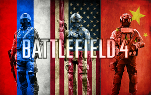 BF4 Assault w/flags Wallpaper by MisterMasada