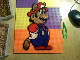 Mario Bead-Sprite by dylrocks95