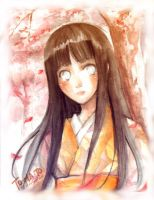 Hinata in Spring by to-ma-to