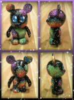 Vinylmation 3'' CosMickey Custom by StephanieCassataArt