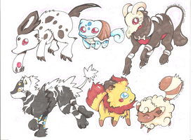 Pokemon Hybrid Commisions