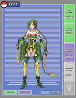 Victreebel Gijinka by bulletproofturtleman