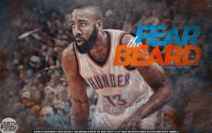 James Harden Wallpaper by IshaanMishra