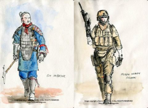 Body Armour Comparison by Jerry-Teo