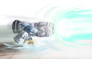 Fanart Friday - PROTON CANNON by Cellsai
